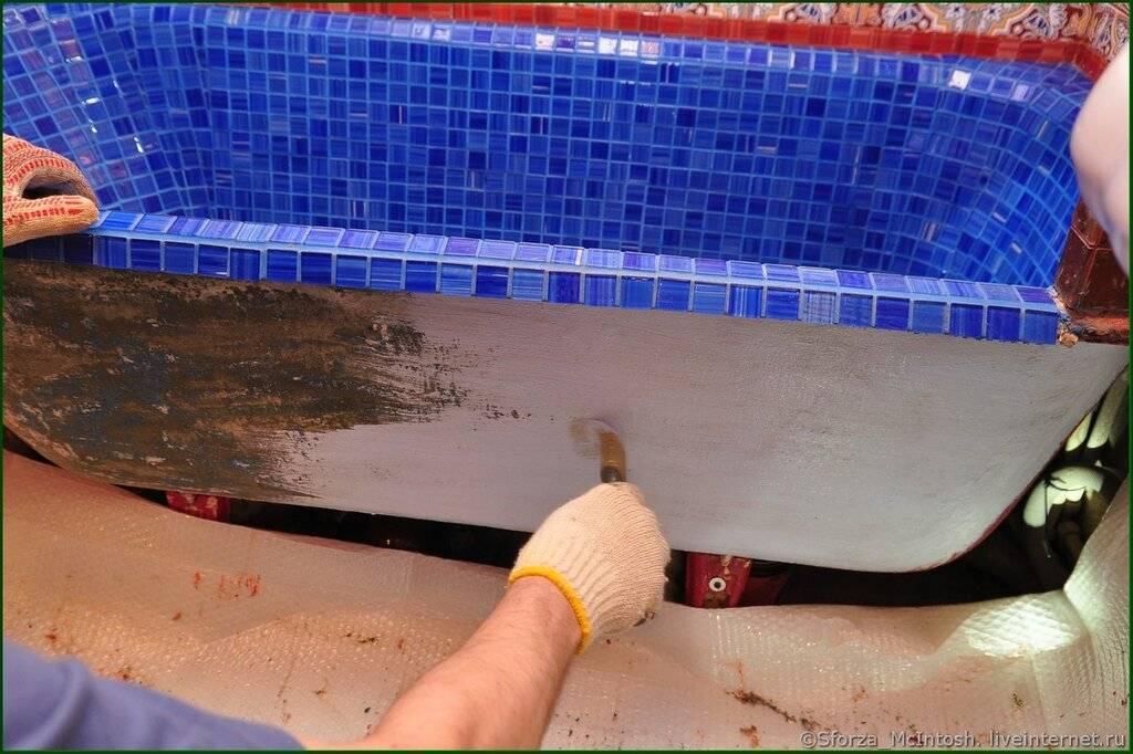 Как отреставрировать старую чугунную ванну: сравнительный обзор 3-х лучших способов