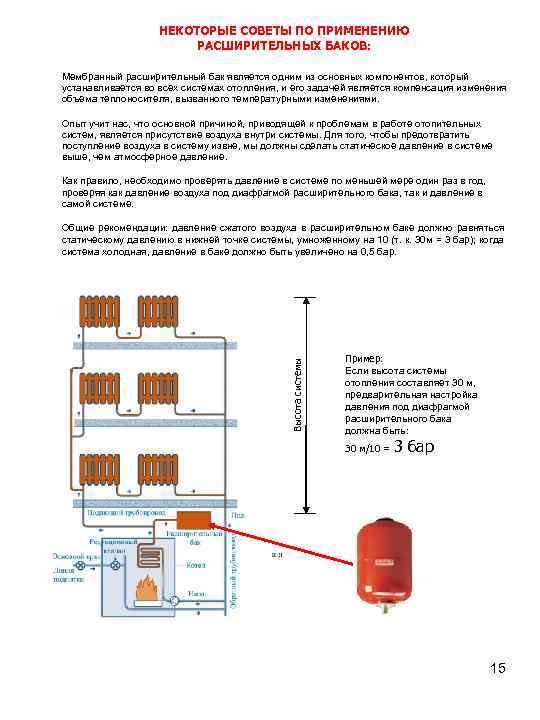 Как измерить и отрегулировать давление в расширительном баке водоснабжения