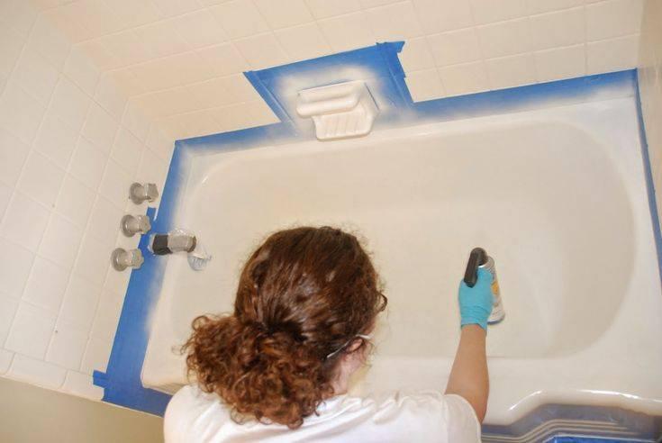 Акриловая краска для ванны - 3 совета как выбрать лучшую краску и покрасить ванну,жидкий акрил,эмаль,для акриловых ванн,акриловые краски.
