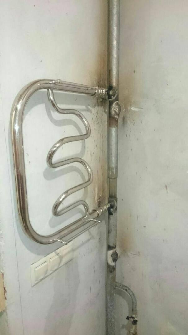 Перенос полотенцесушителя на другую стену в ванной — монтажный инструктаж