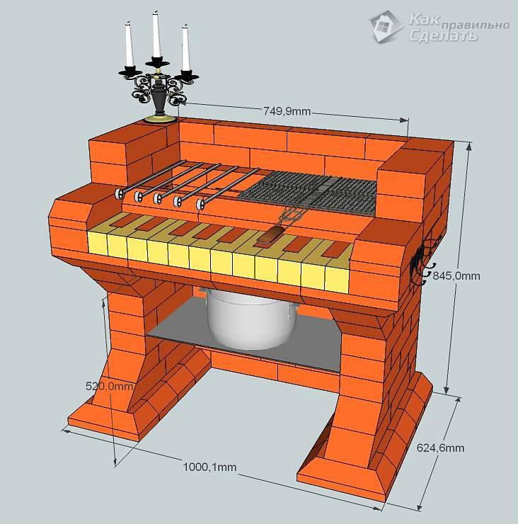 Барбекю своими руками: пошаговая инструкция, особенности и основные варианты постройки (видео + 155 фото)