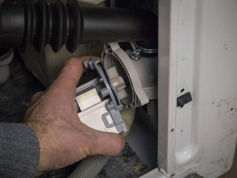 Замена сливного насоса (помпы) на всех моделях стиральных машин