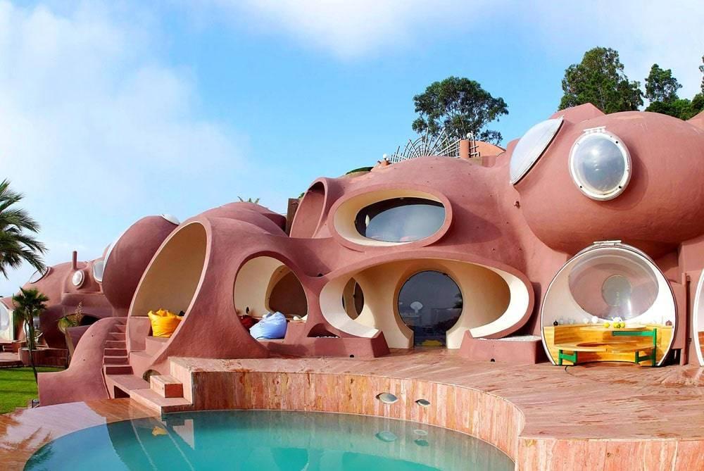 Самые необычные дома: 100+ фото [невероятный дизайн домов]