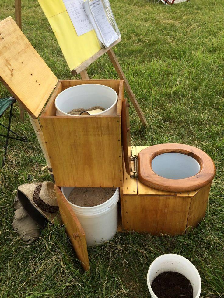 Торфяной туалет для дачи своими руками: разновидности конструкций, их особенности