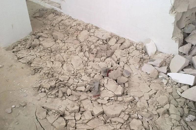 Разборка цементно-песчаной стяжки: инструктаж по демонтажу и его тонкости   ремонт, наука, технологии