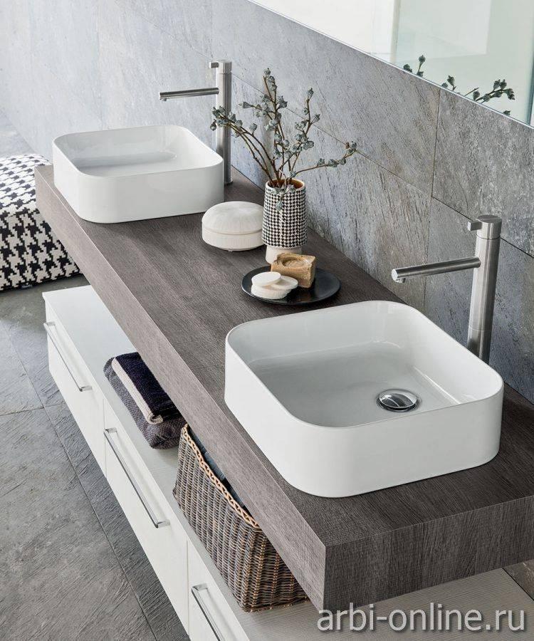 Раковина-столешница: обзор лучших моделей для ванной комнаты (125 фото накладных и встраиваемых раковин)