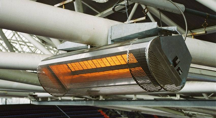 Промышленные газовые инфракрасные обогреватели – прямая выгода для предприятия