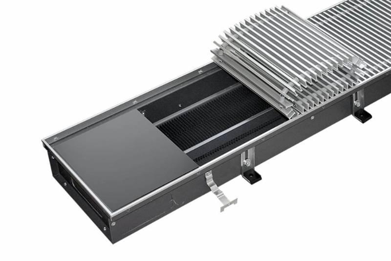 Конвекторы отопления водяные встраиваемые в пол: применение, конструкция и цены