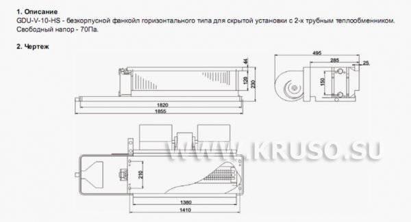 Фанкойлы. вентиляторные доводчики - портал о строительстве