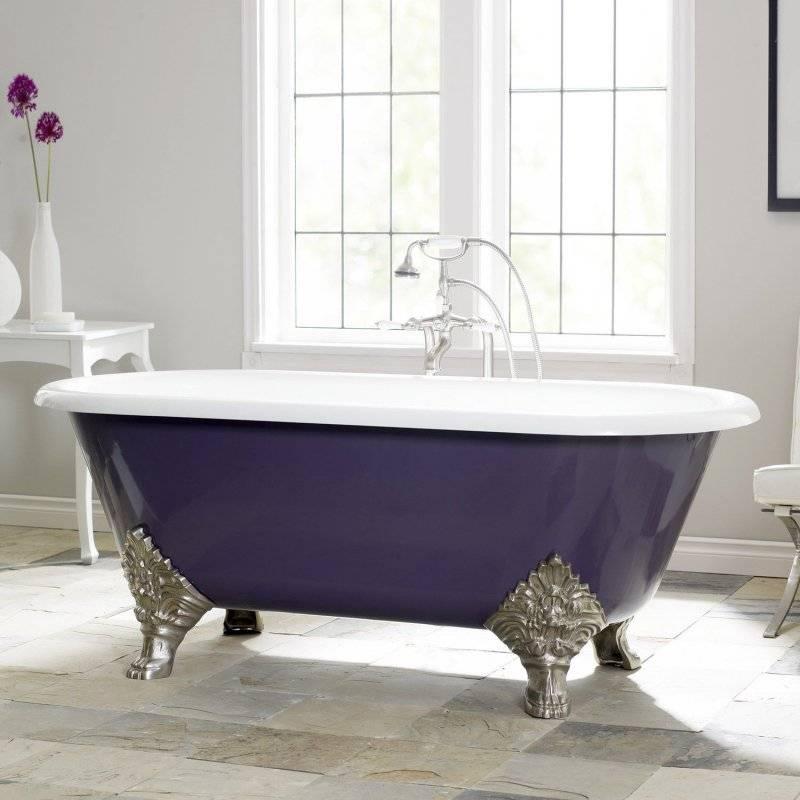 Краска для чугунной ванны: как покрасить ванну в домашних условиях