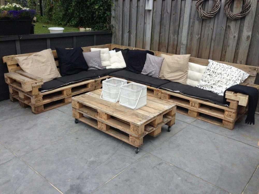 Мебель из поддонов своими руками: топ-150 фото идей + все способы изготовления