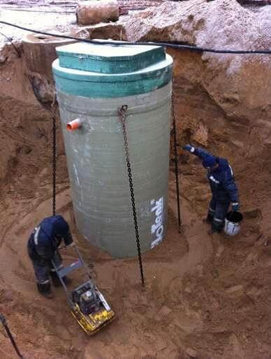 Заделка швов в колодце из бетонных колец
