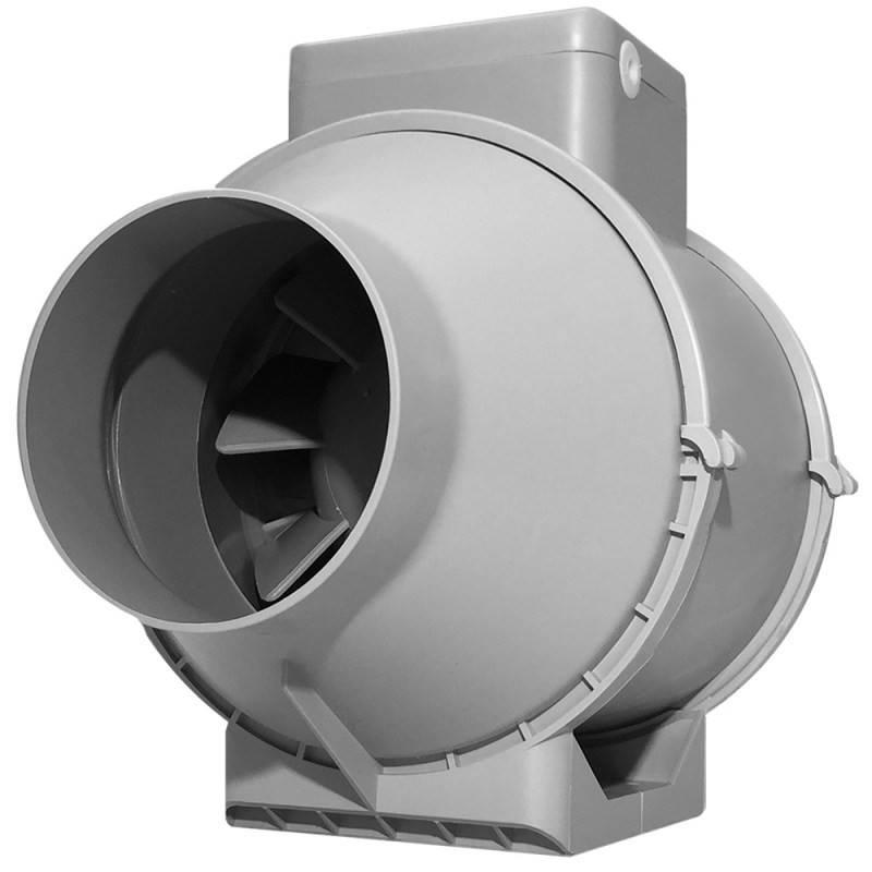 Канальные бесшумные вентиляторы для вытяжки: существующие виды приборов и их рабочие параметры
