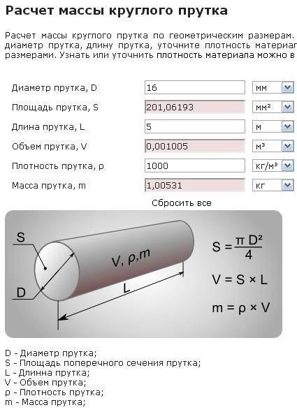 Расчет объема воды в трубе по формуле + готовая таблица