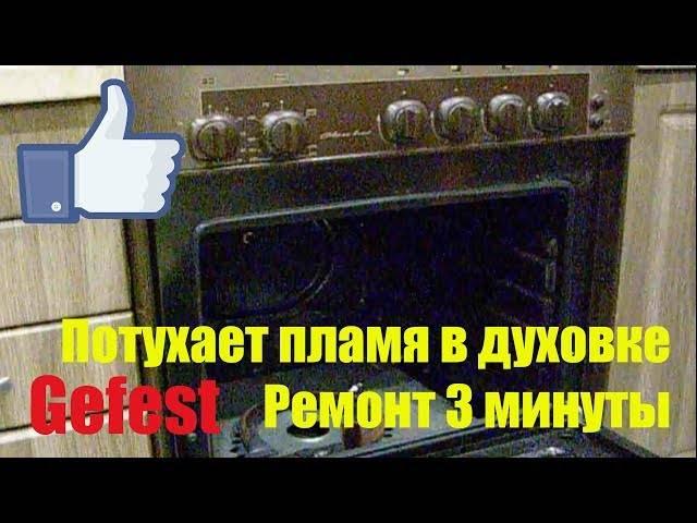 Не работает духовка: в газовой или электрической плите