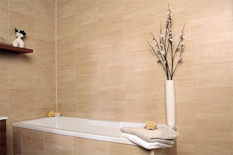 Отделка стен ванной пвх панелями