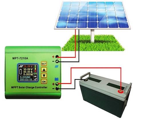 Контроллеры заряда солнечной батареи