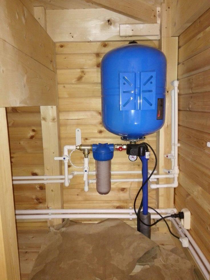 Водоснабжение частного дома: источники, оборудование, материалы