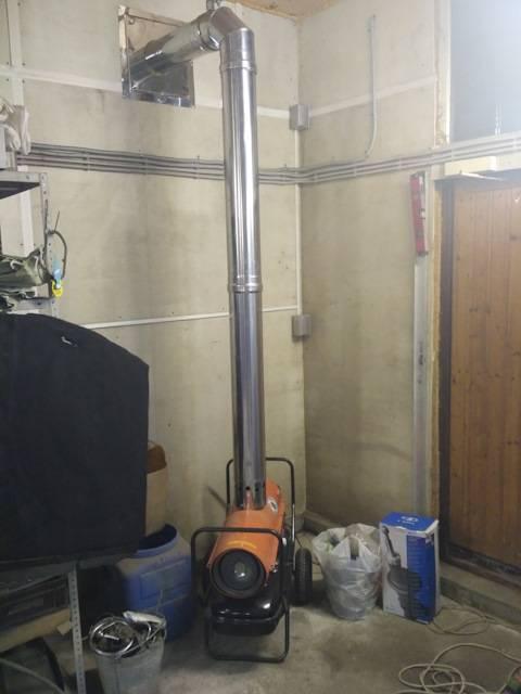 Отопление гаража: экономные варианты, схемы водяного и воздушного обогрева