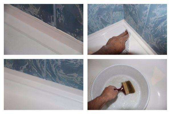 Керамический бордюр для ванны. как и чем приклеить керамический бордюр на ванну?
