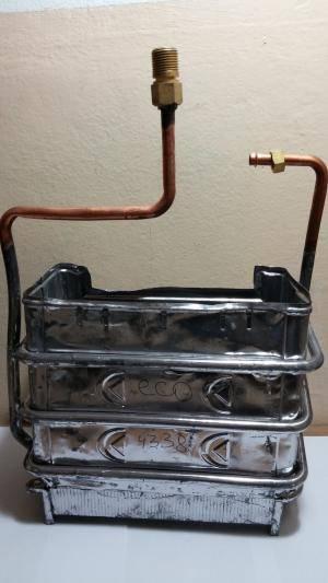 Теплообменник для газовой колонки: как прочистить, промыть и выполнить ремонт