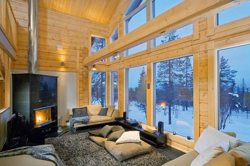 Второй свет в доме дизайн: интерьер гостиной - 27 фото