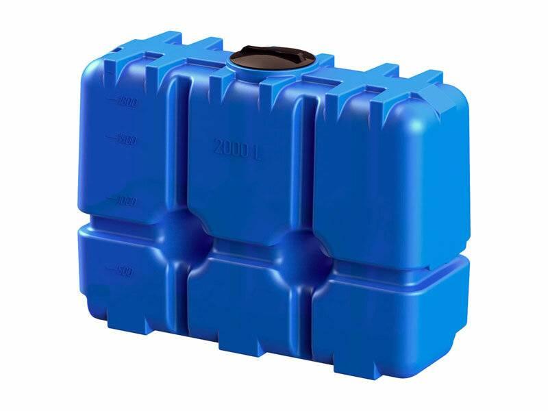 Пластиковые емкости под воду