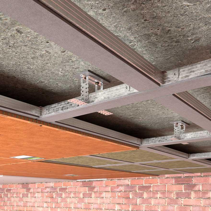 Шумоизоляция потолка в квартире под натяжной потолок - строительство и ремонт