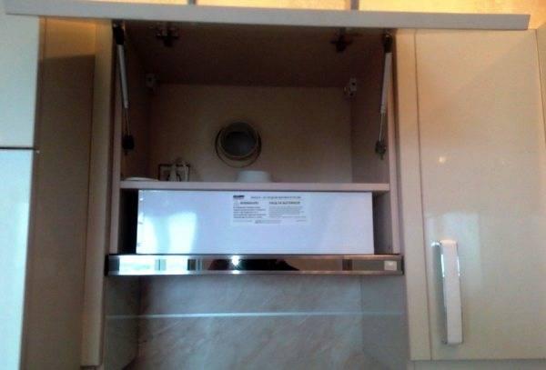 Как установить кухонную вытяжку своими руками?