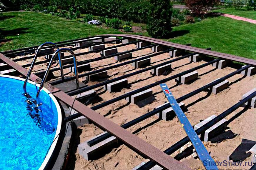 Бассейн своими руками на даче: из чего можно изготовить простой, небольшой самодельный искусственный водоем для участка, пошаговая инструкция по строительству