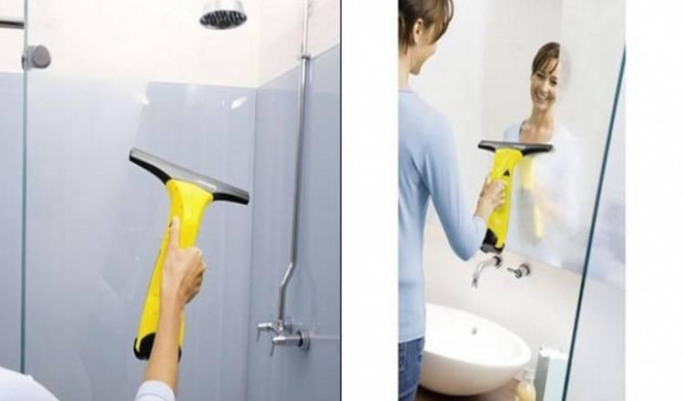Как отмыть душевую кабину   domestos