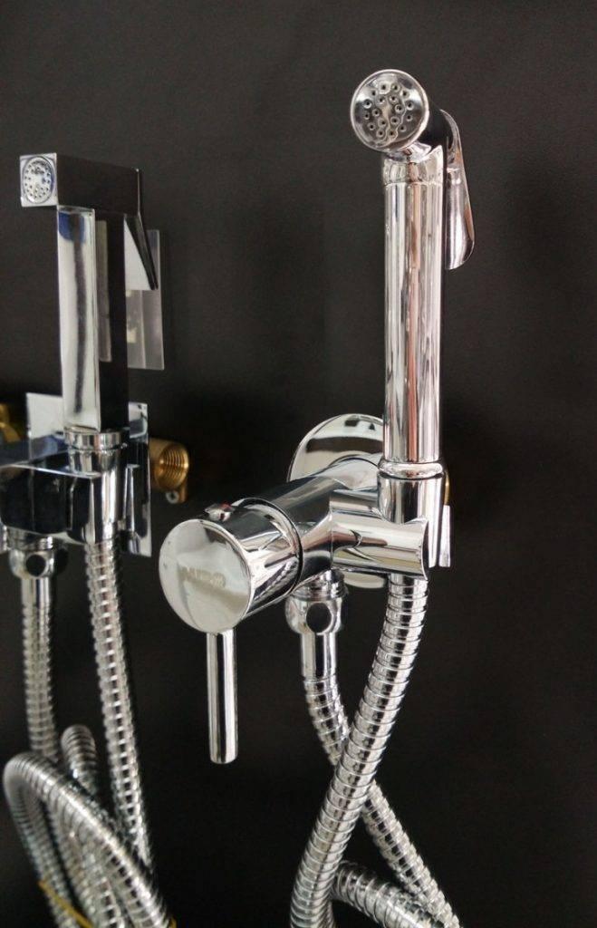 Смеситель с гигиеническим душем для туалета - особенности, плюсы и минусы