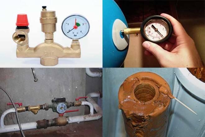 Защита от гидроударов системы домашнего отопления и водоснабжения