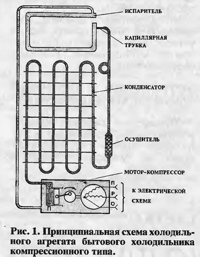 Принцип работы холодильника — схема и устройство холодильника атлант