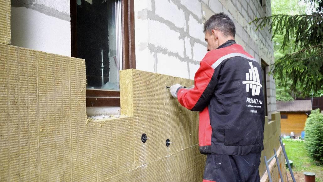 Топ-9 лучших утеплителей для стен деревянного дома снаружи под сайдинг: обзор