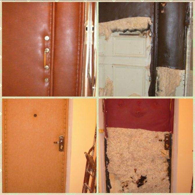Как и чем утеплить входную деревянную дверь своими руками?