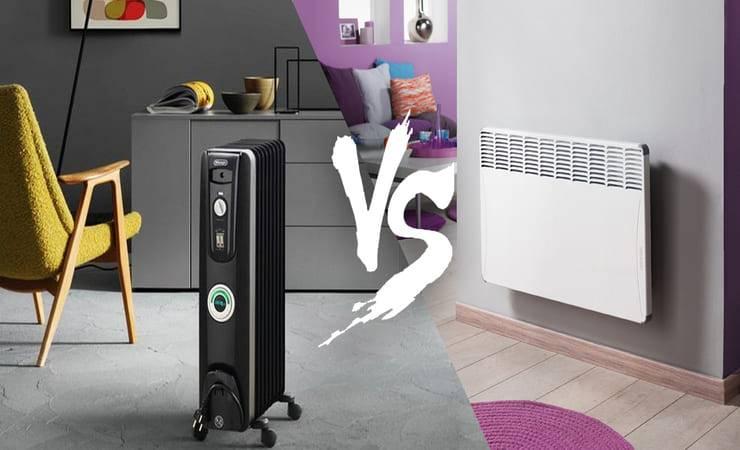 Конвектор или масляный радиатор - чем отличаются и в чем разница между ними, примерына фото и видео