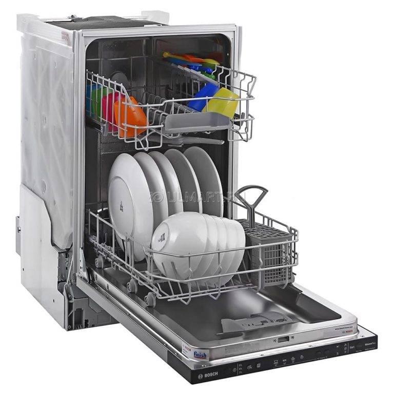 Отдельностоящие посудомоечные машины шириной 45 см: топ-8 узких посудомоек на рынке