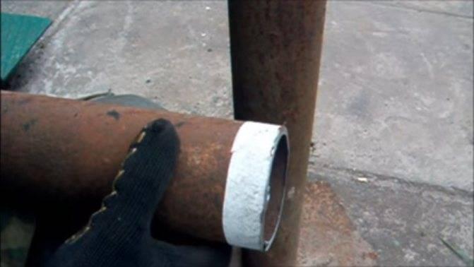 Как отрезать трубу под углом – варианты разметки для круглой и профильной трубы
