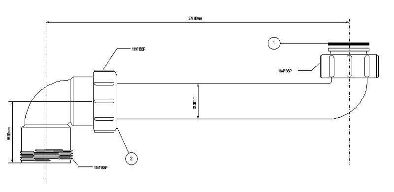 Сифон под раковину: как выбрать диаметр