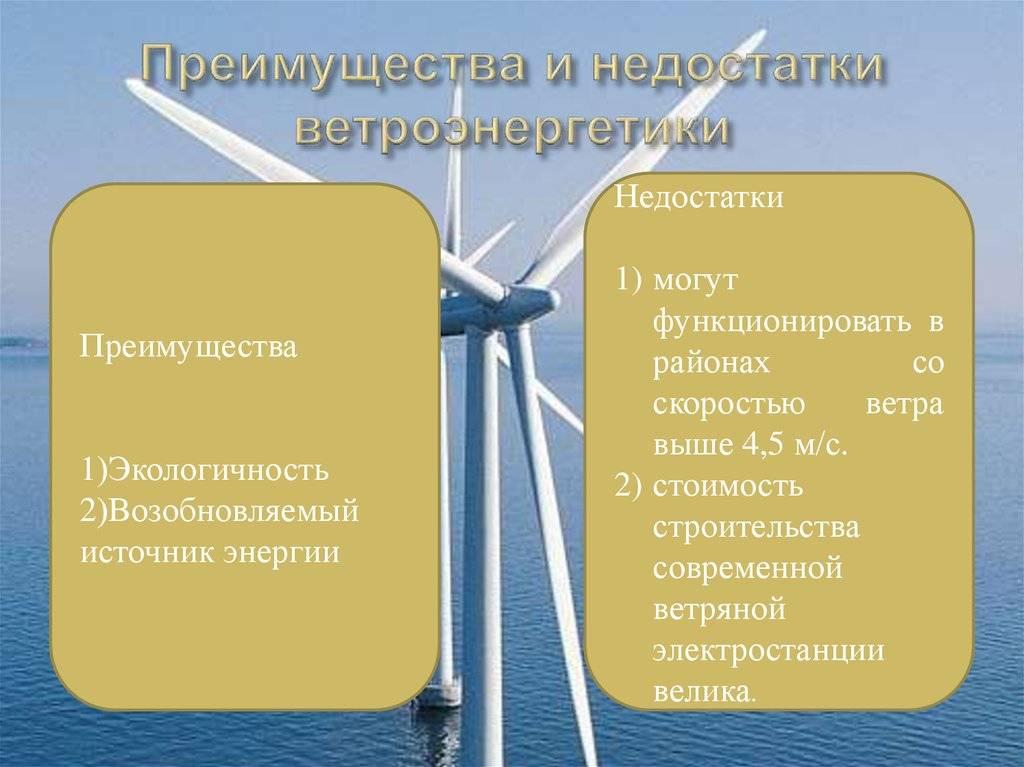 Ветровые электростанции: принцип работы и что такое