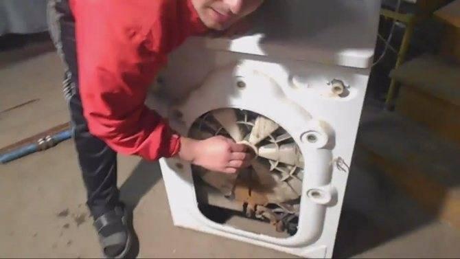 Замена подшипника на стиральной машине indesit своими руками