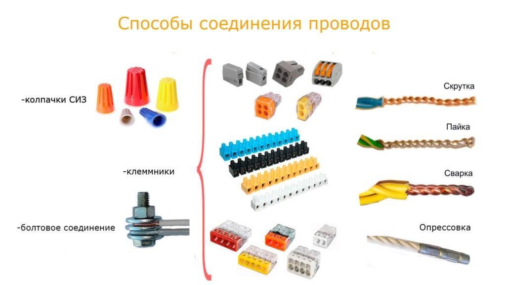 Соединение проводов – обзор самых безопасных и грамотных вариантов соединения (85 фото) – строительный портал – strojka-gid.ru