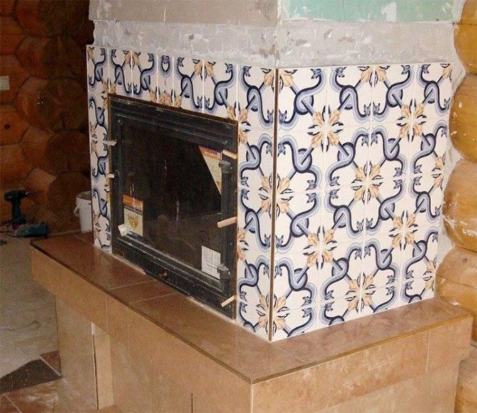 Отделка русской печи из кирпича в доме своими руками: чем можно покрасить, как выбрать краску, какой плиткой обложить, фото