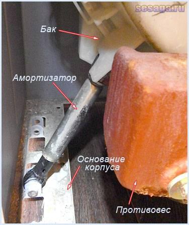 Как проверить исправность амортизатора стиральной машины