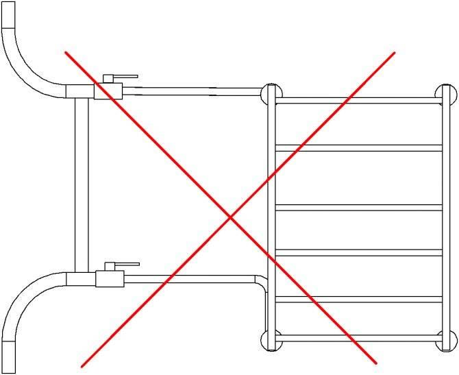 Как подключить полотенцесушитель к двухтрубной системе отопления?