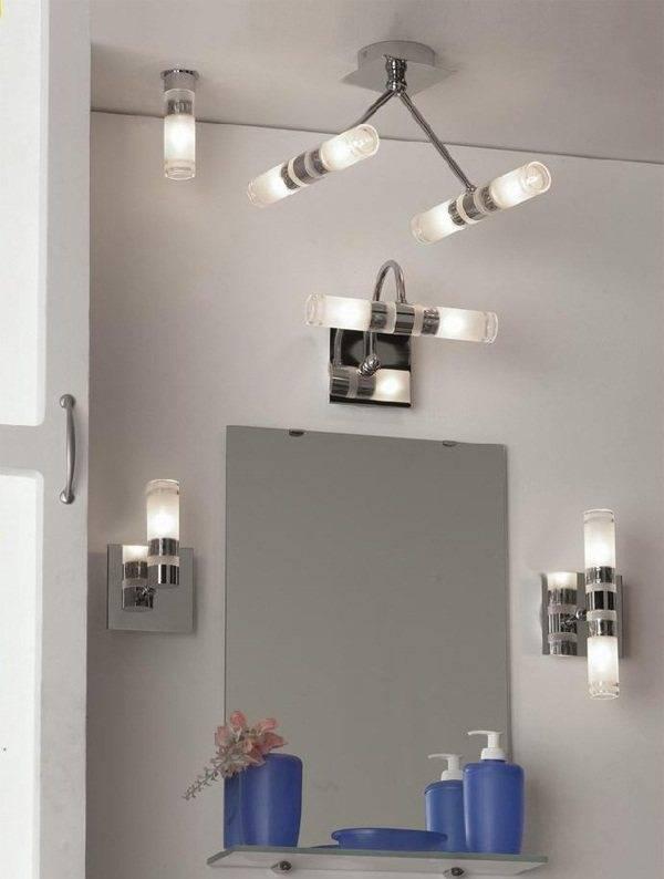 Освещение в ванной комнате — выбор лучшего светильника.
