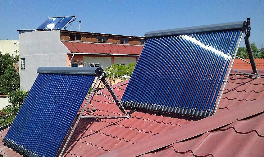 Солнечные батареи для отопления дома обогрев тепловыми панелями, радиаторы, теплый пол, коллекторы
