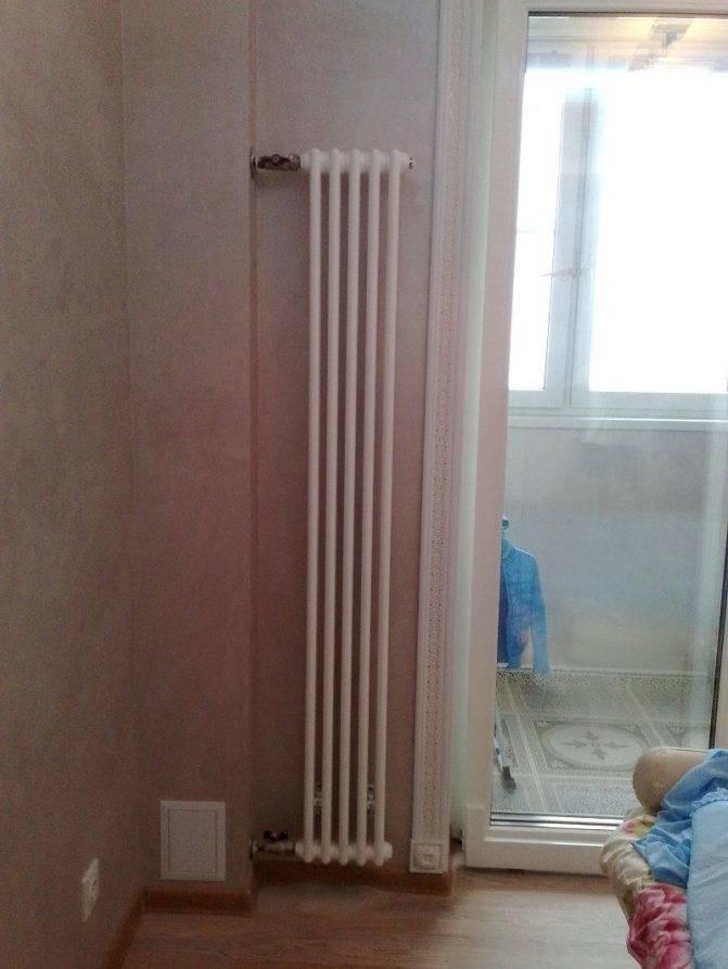 Вертикальные радиаторы отопления - выбираем лучший вариант