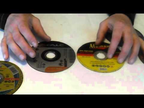 Как правильно ставить отрезной диск на болгарку